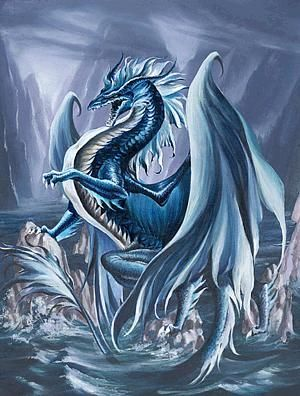Grand Dragon Bleu